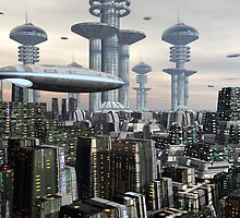 City Of Antra by Maurice Graham