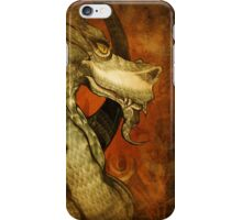 The dragon with the girl tattoo. iPhone Case/Skin