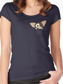 Pocket Gizmo  Women's Fitted Scoop T-Shirt