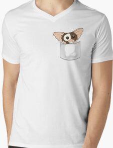 Pocket Gizmo  Mens V-Neck T-Shirt