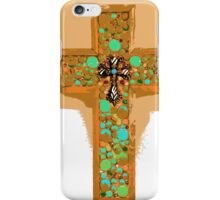 Turquoise Cross iPhone Case/Skin