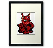Red Man Framed Print