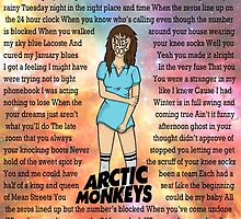 Arctic Monkeys' Knee Socks Lyrics by VanessaD16