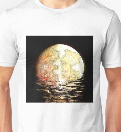drowning moon Unisex T-Shirt