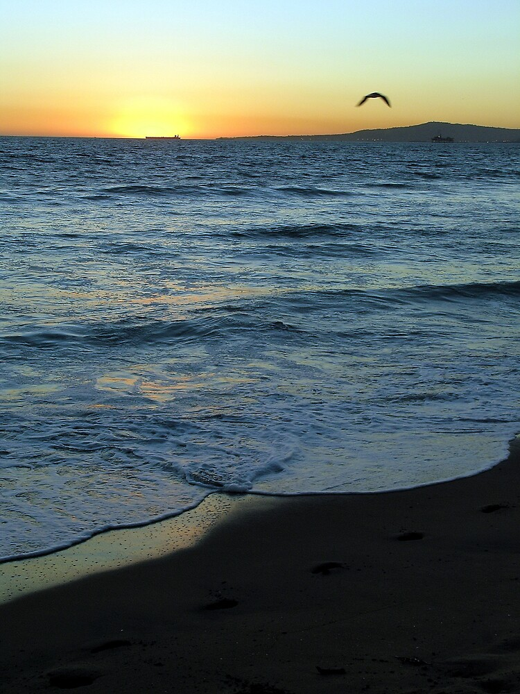 Sunset on Sunset Beach by Dianna