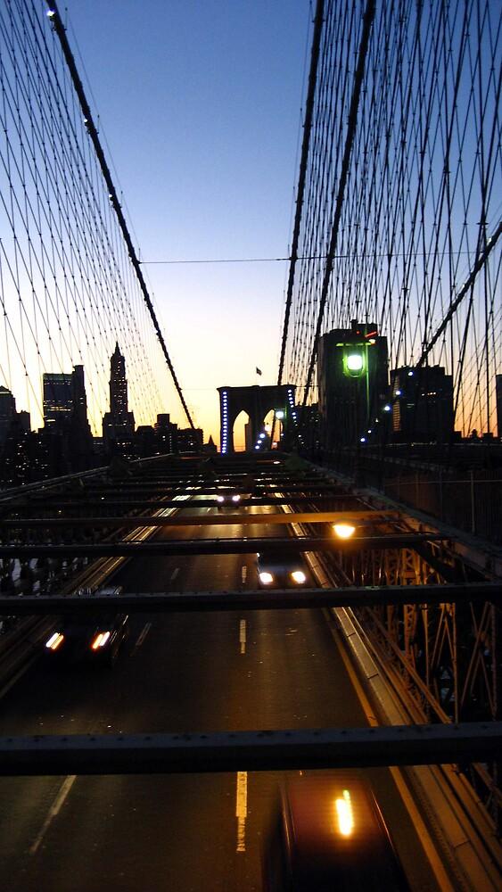 Brooklyn Bridge by LizzyM