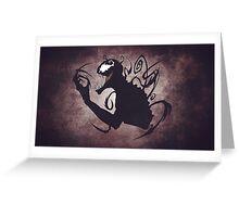 Carnage/Venom Greeting Card