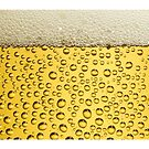 BEER bubbles and foam by Tony  Bazidlo