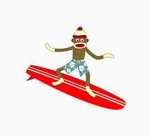 Sock Monkey Surfer Unisex T-Shirt