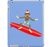 Sock Monkey Surfer iPad Case/Skin