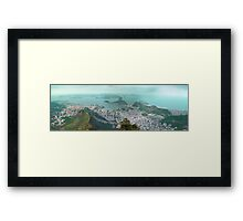 Sugar Loaf from Corcovado Framed Print