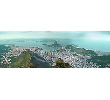 Sugar Loaf from Corcovado Photographic Print