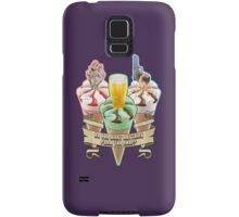 Three Flavours Cornetto Trilogy with banner Samsung Galaxy Case/Skin