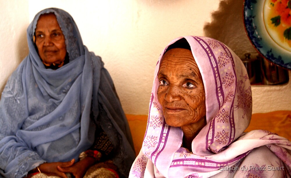 the old women of Harar by Gideon du Preez Swart
