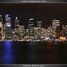 Sydney Night Light by Ryan Golla