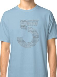 Babylon 5 Quotes - Grey Classic T-Shirt