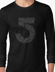 Babylon 5 Quotes - Grey Long Sleeve T-Shirt
