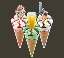 Three Favours Cornetto Trilogy Unisex T-Shirt