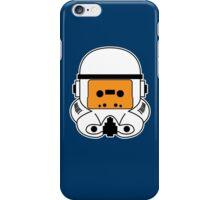 Cassette Trooper - Orange iPhone Case/Skin