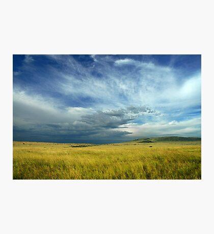 Masai Mara storm Photographic Print