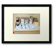 Dr. Exam Framed Print