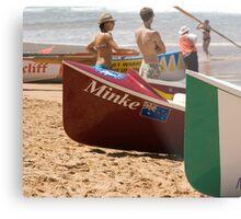 Surfboat Saturday Metal Print
