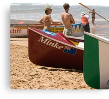 Surfboat Saturday Canvas Print