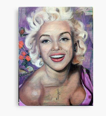 Alive (Marilyn Monroe) Canvas Print