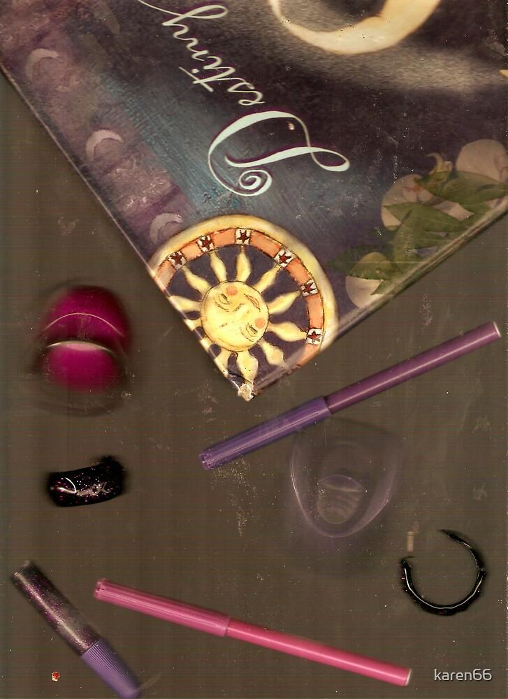 Purple Collage by karen66