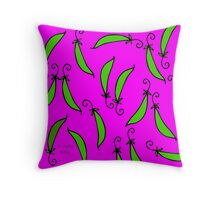 La Mela Isola - Peasome Cushion Throw Pillow