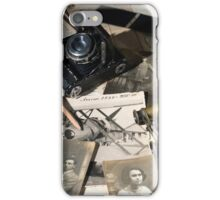 About Time : the photographer desk iPhone Case/Skin