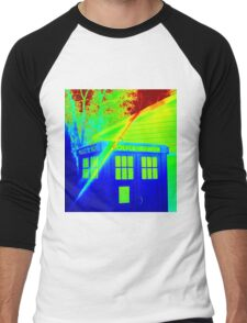 T.A.R.D.I.S. Rainbow Men's Baseball ¾ T-Shirt