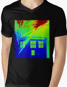 T.A.R.D.I.S. Rainbow Mens V-Neck T-Shirt