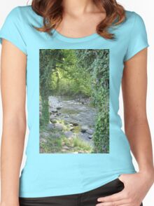 Cliff Branch Women's Fitted Scoop T-Shirt