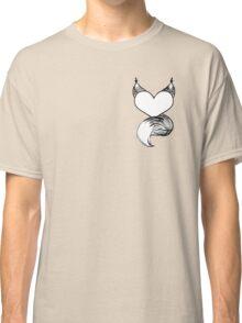 Furry at Heart (White) Classic T-Shirt