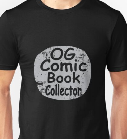 Original Comic Book Collector Retro Vintage Style T-Shirt Unisex T-Shirt