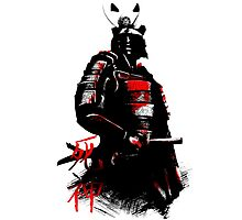 Shinigami Samurai Photographic Print