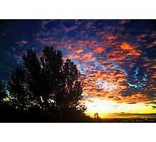 September Skies Photographic Print
