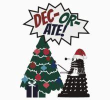 DEC-OR-ATE! Dalek Christmas by wessaandjessa