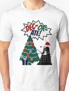 DEC-OR-ATE! Dalek Christmas T-Shirt