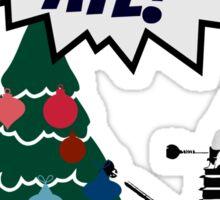 DEC-OR-ATE! Dalek Christmas Sticker