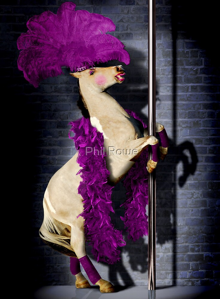 Pole Dancing Pony by Phil Rowe