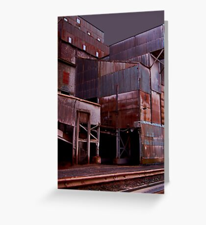 Stormy Quarry Greeting Card