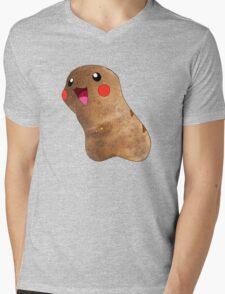 Potato Pikachu Mens V-Neck T-Shirt
