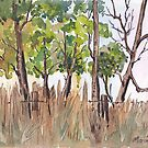 The lonely Bluegums by Maree Clarkson