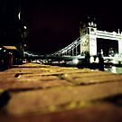 Tower bridge- london at night by rkdogz