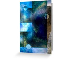 Earth and Cloud Greeting Card