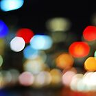 blurry buildings by rkdogz