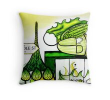 My Love My Melbourne Throw Pillow