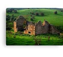 Roofless Cottage Canvas Print